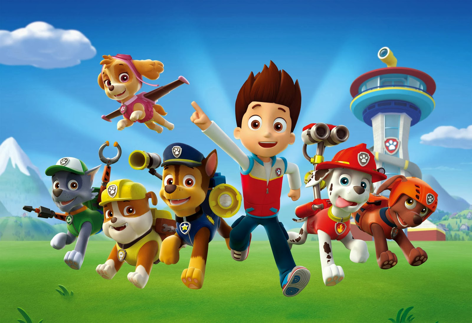 NickALive Nickelodeons quotPAW Patrolquot Recruits Heroic  : Paw Patrol Characters Cast Stars Nickelodeon Preschool Nick Jr Junior Chase Marshall Rocky Rubble Zuma Skye RyderGermany Deutschland Press from nickalive.blogspot.com size 1600 x 1096 jpeg 270kB