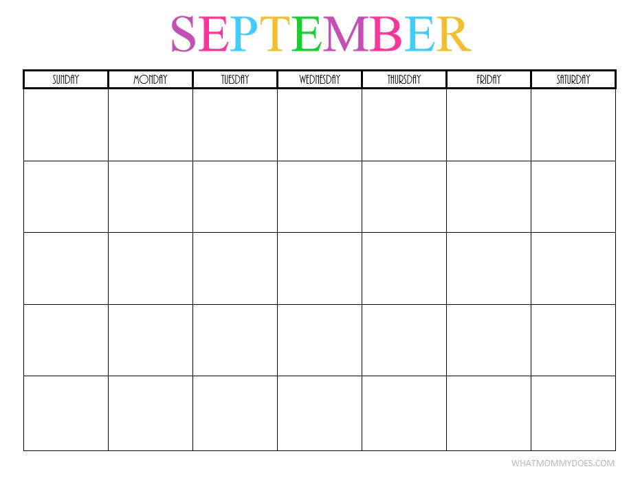 september 2018 calendar template word
