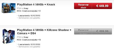 Se puede reservar la nueva PS4 en Gamestop