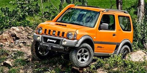 Jimny off-road
