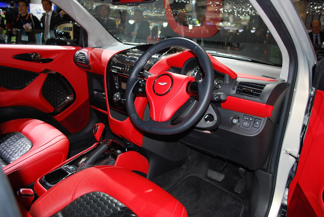Kendall Self Drive Aston Martin Cygnet
