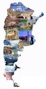 La República Argentina está ubicada en el extremo sur del continente . fotos argentina