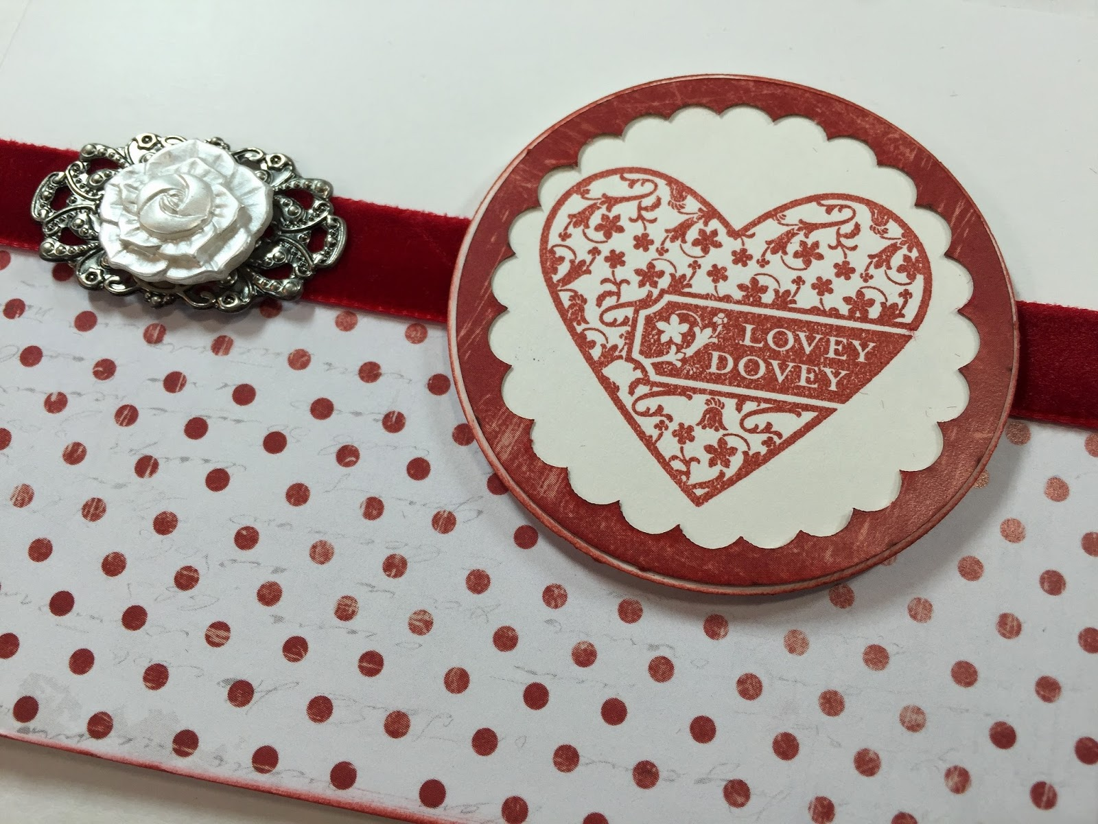 golden goddess designs  lovey dovey card with stick it