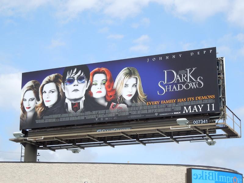Dark Shadows movie remake billboard
