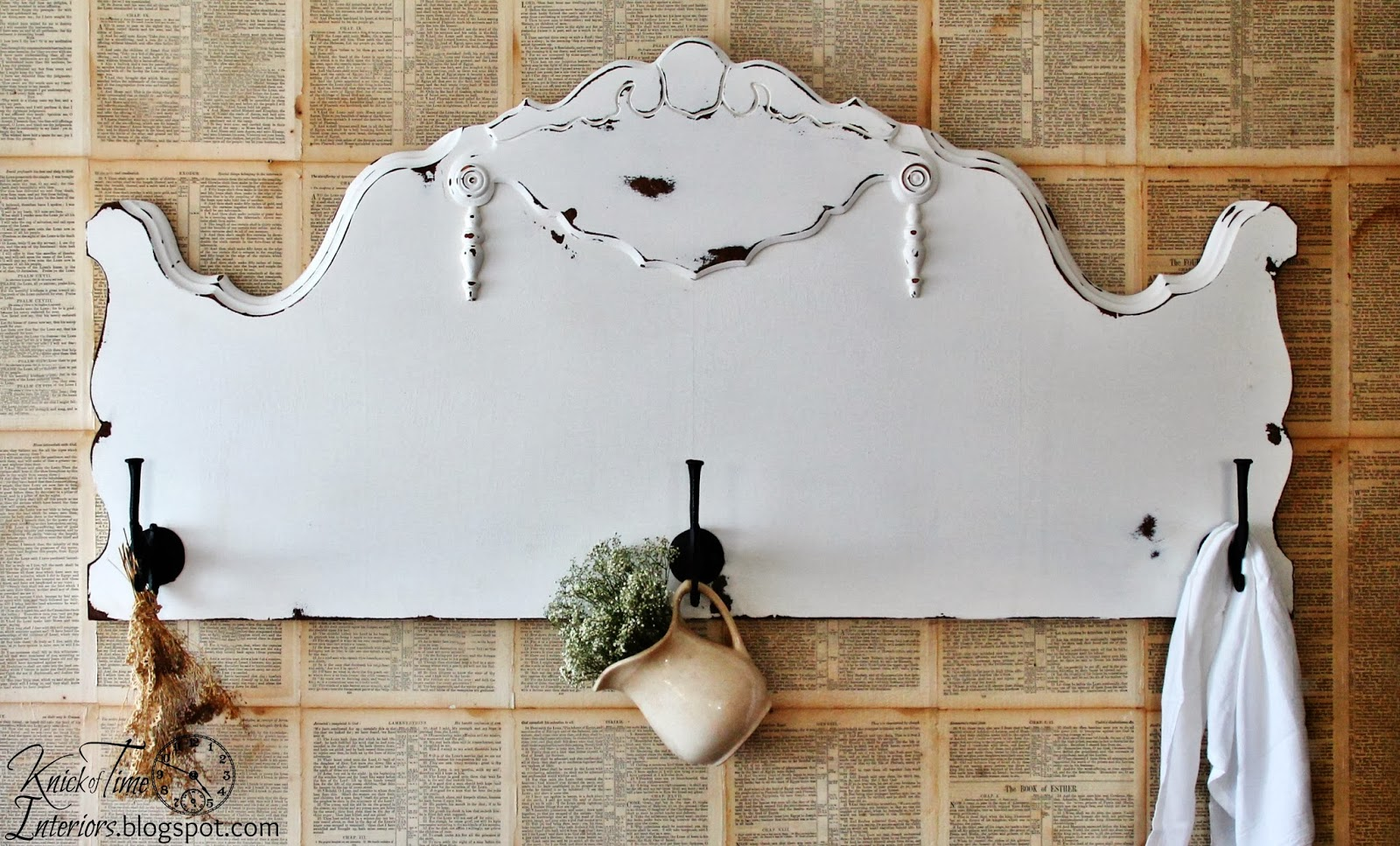 Repurposed-Headboard-Coat-Rack