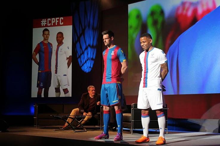 Jersey Crystal palace home terbaru musim 2015/2016