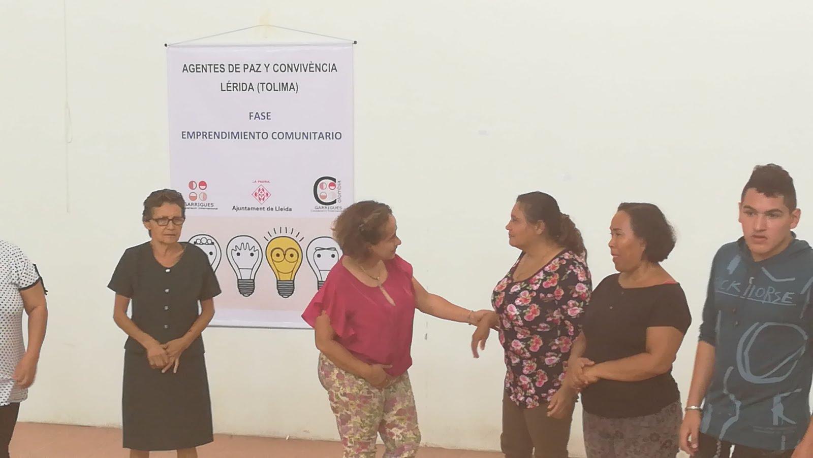 Formación de Agentes de paz y convivencia en Lérida