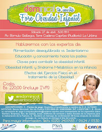 Foro Obesidad Infantil