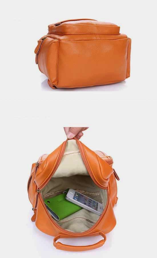 สาวๆเกาหลีฮิตกระเป๋าเป้