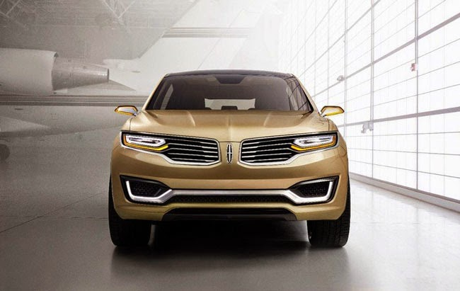 New 2014 Lincoln MKX Concept Crossover SUV