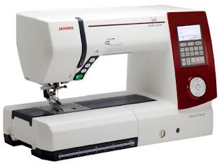 As máquinas de costura tornam o trabalho perfeito