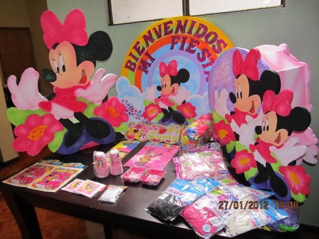 FIESTA MINNIE MOUSE PARA NIÑAS  Fiestas infantiles y decoracion ...