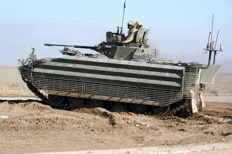 FV510 Warrior Infantry Fighting Vehicle