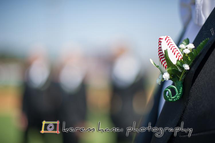 These Cal State Fullerton graduates, take their baseball seriously. Go Titans!