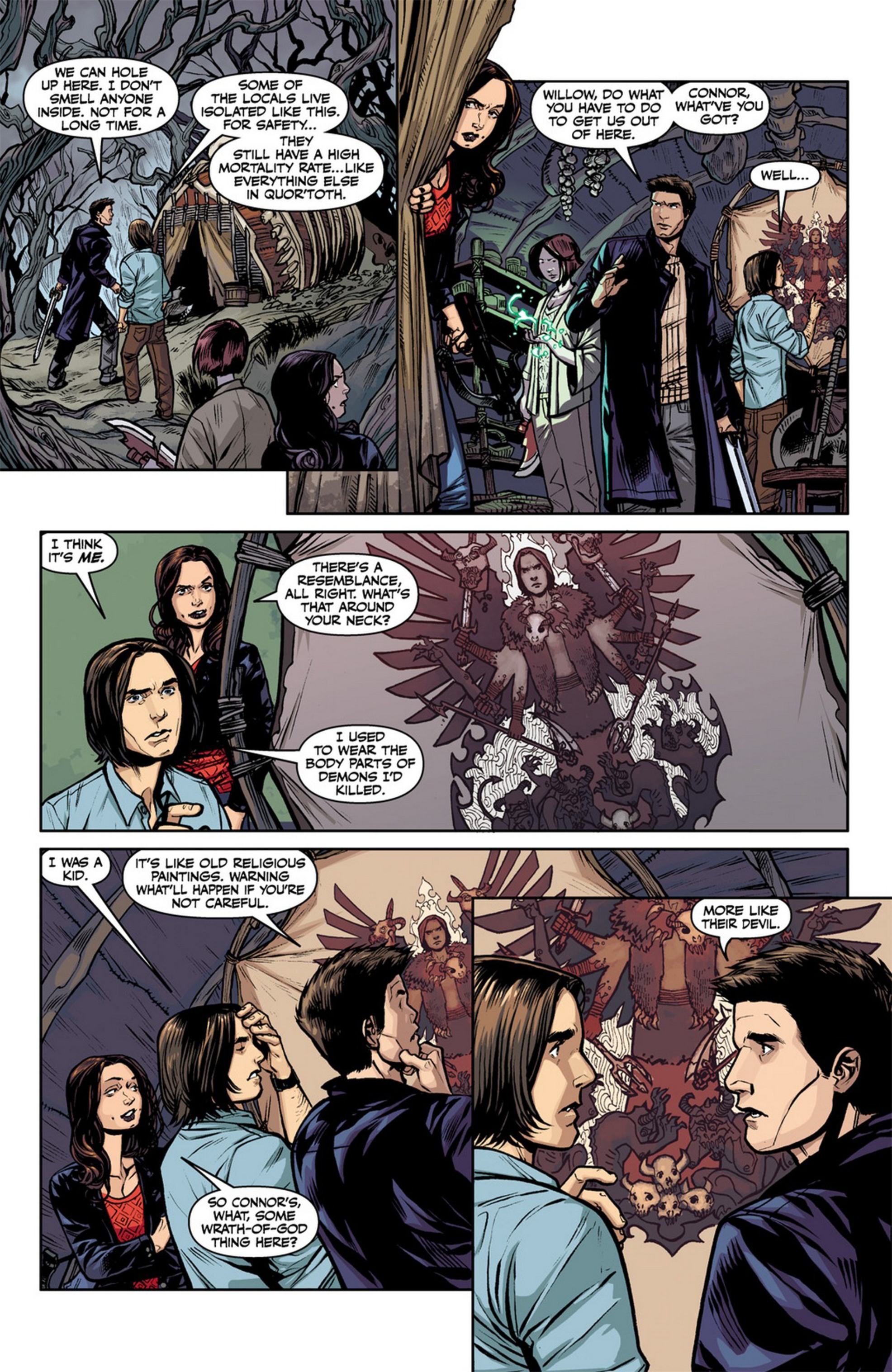 Read online Angel and Faith comic -  Issue #12 - 10