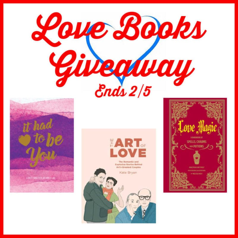 Love Books Giveaway