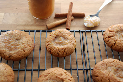 Gluten Free Vegan Apple Butter Thumbprint Cookies