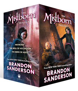 Mistborn Trilogy Boxed Set (Mistborn, The Hero of Ages, and The Well of Ascension)