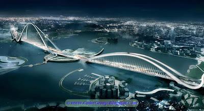 Dual Arch Bridge , Dubai