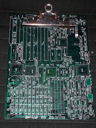 CyberPunk 286 Motherboard Clipboard...Limited Edition!
