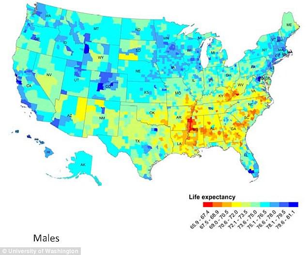 Maps, Charts and Statistics 2 Lifeexpectancymales