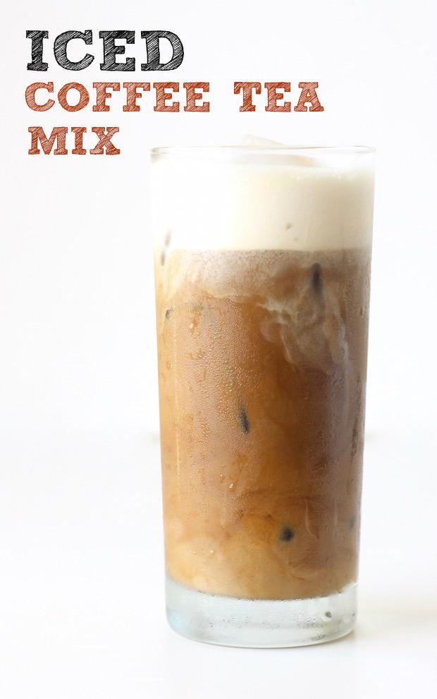 Iced Yuanyang Coffee Tea Mix Season With E