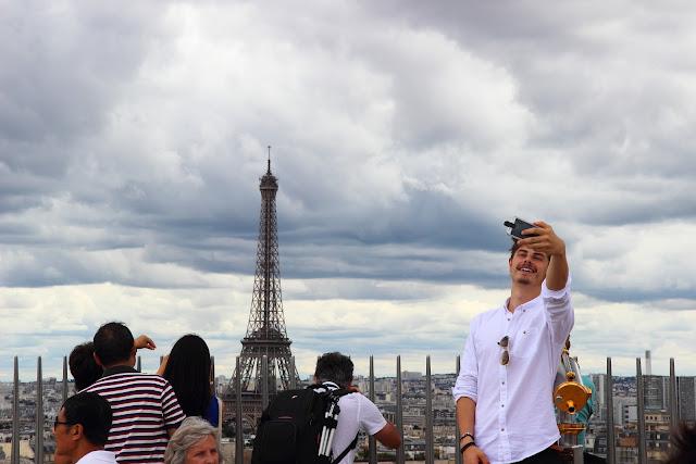 Selfie e Tour Eiffel