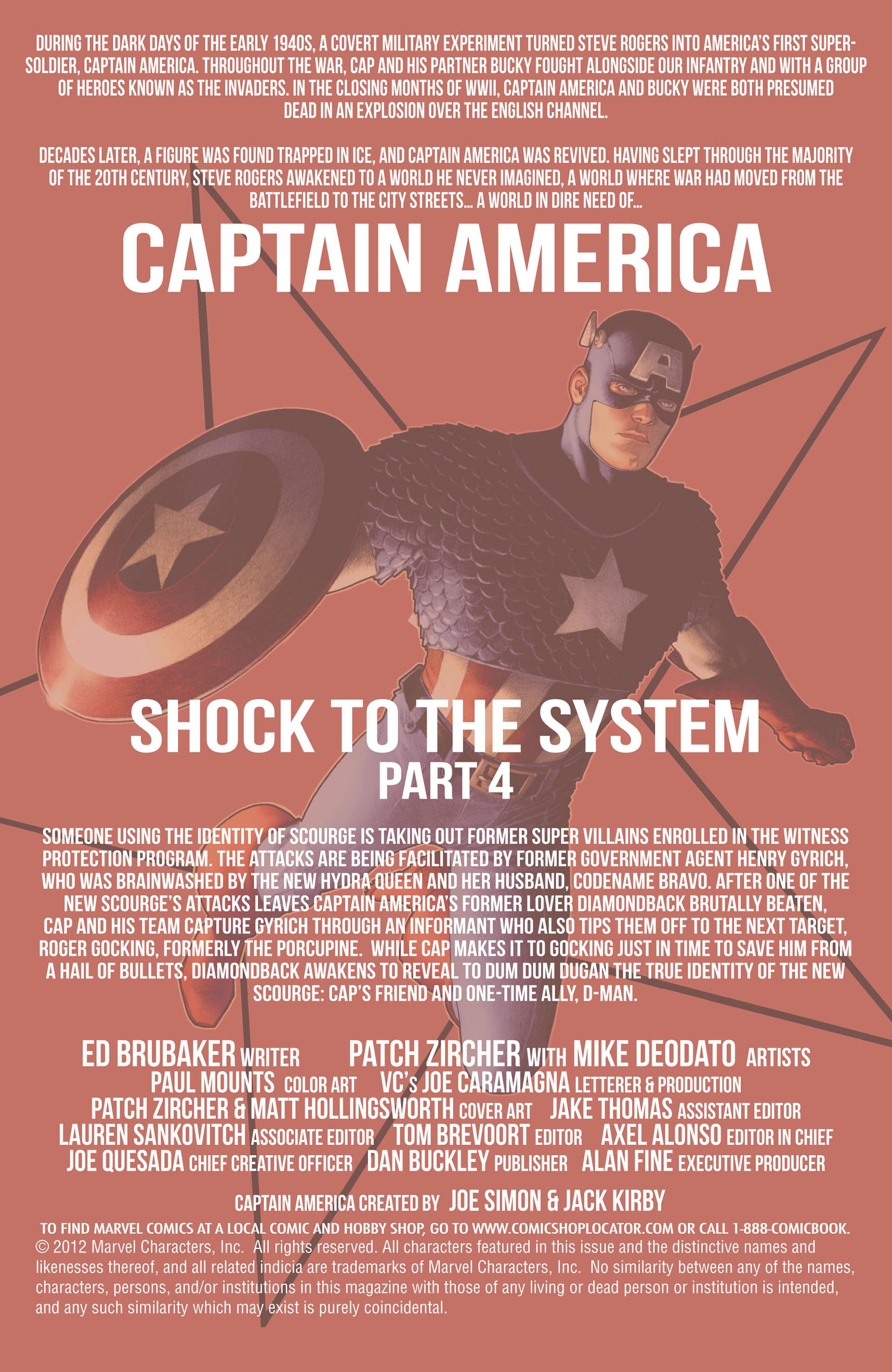 Captain America (2011) Issue #14 #14 - English 2
