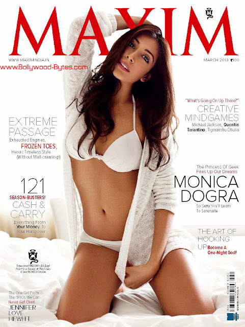 Hot Monica Dogra Cover Maxim India March