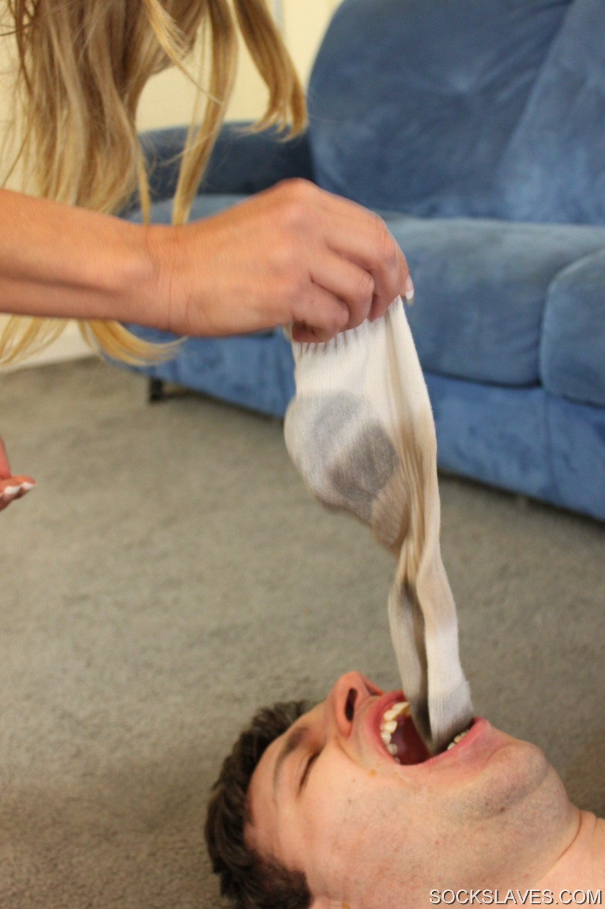 Dirty sock domination first time gina