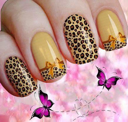 stickers nail, adesivos de unhas oncinha