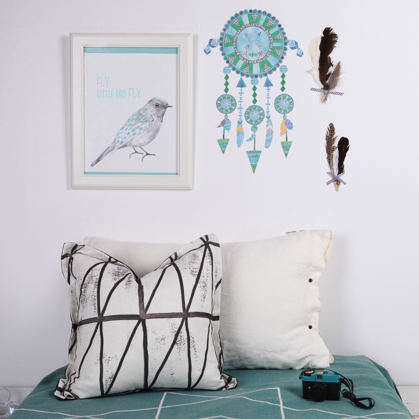http://www.lovemae.com.au/shop/fabric-wall-stickers/dream-catcher-blues.html