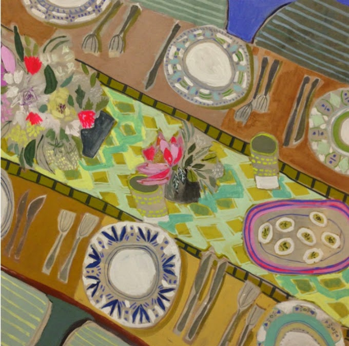 Lulie Wallace Tablescapes