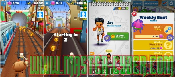 Download Subway Surfer Mumbai Koin Tanpa Batas