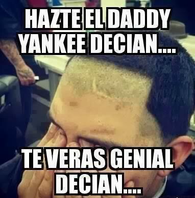 Corte de pelo Daddy Yankee humor
