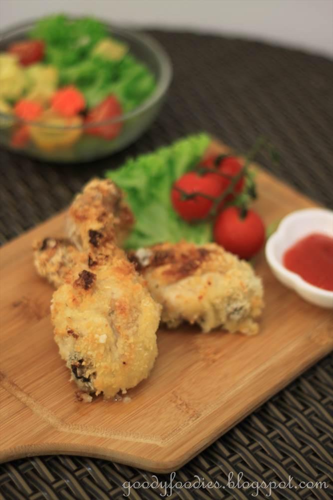 GoodyFoodies: Recipe: Oven-baked crispy yogurt chicken (Ree Drummond)