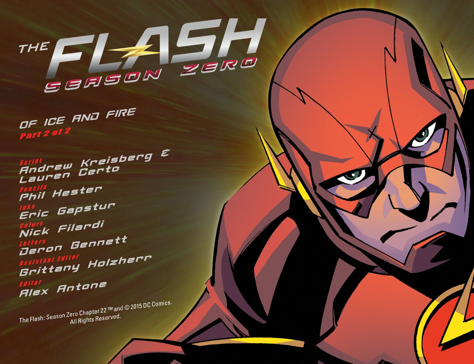 The Flash: Season Zero [I] Issue #22 #22 - English 2