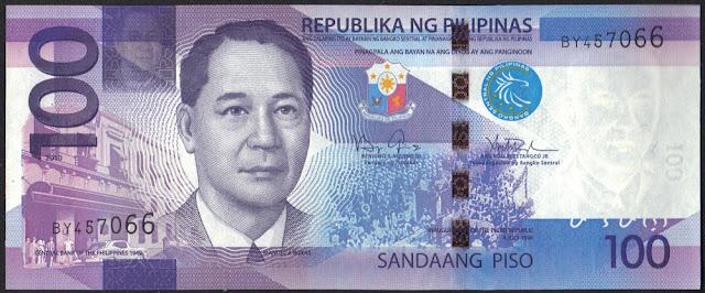 Filippine 100 piso 2010 P# 208