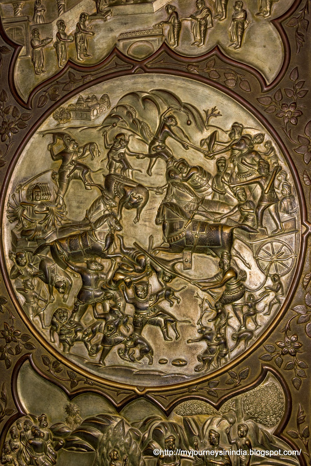 Ashwamedh Yagya Shield at Albert Hall of Museum Jaipur