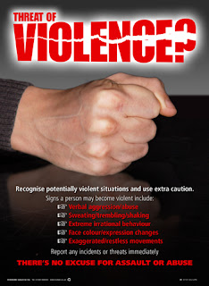 Workplace violence posters
