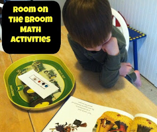 math for kids, Room on the Broom, julia Donaldson, VirtualBookClub, picture books, book activities, children books ideas, kindergarten common core, ready-set-read