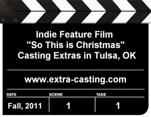So This is Christmas Extras Casting