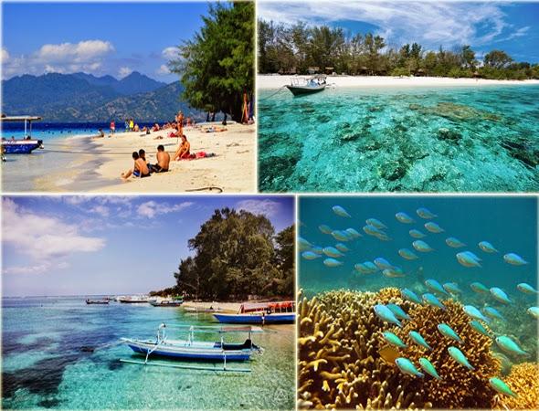 Indahnya Wisata Lombok Di  Gili
