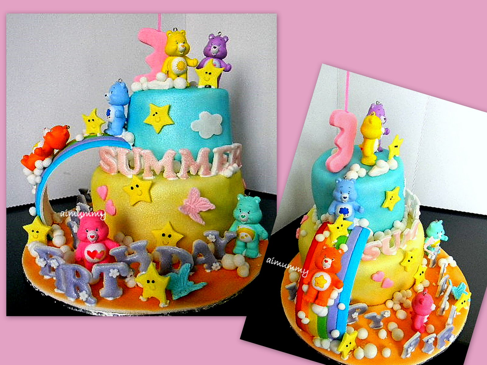 AiMummy Little Summers Carebear cake