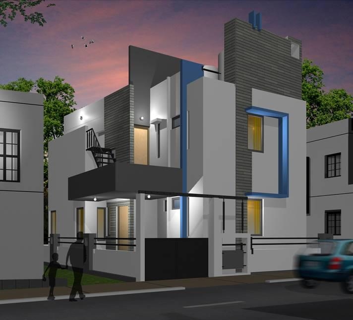 10 inspiring and mind blowing designs of houses kerala for Elevation ideas for new homes