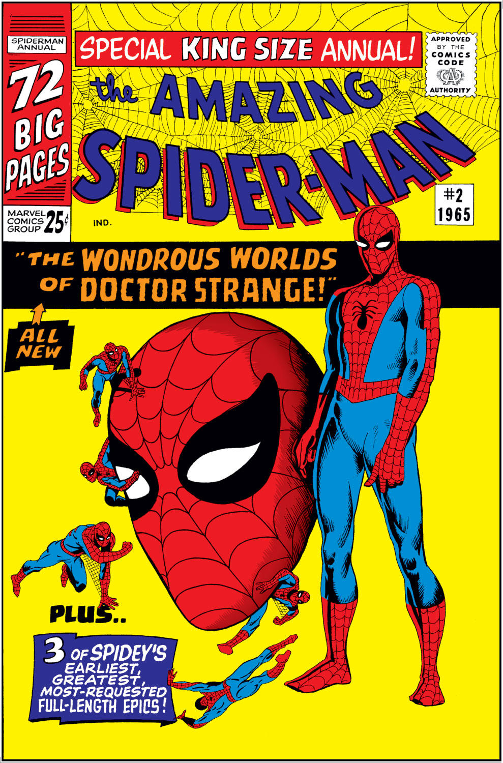 The Amazing Spider-Man (1963) _Annual_2 Page 1
