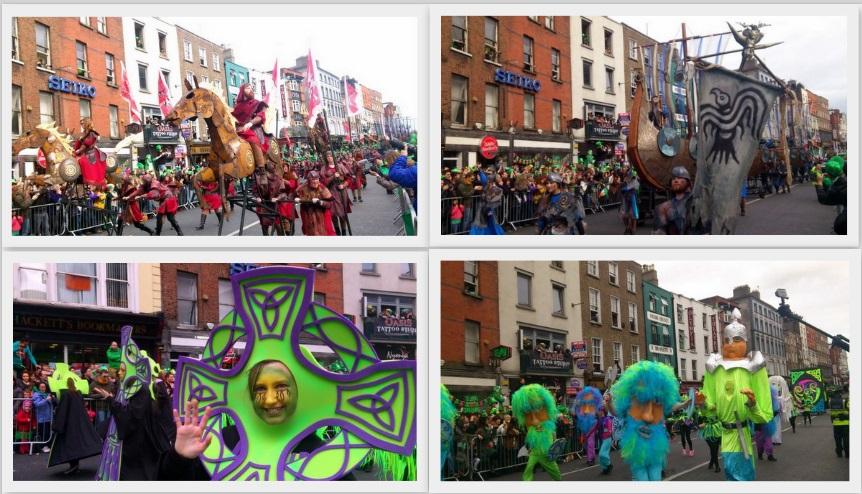 Disfraces y desfile de San Patricio