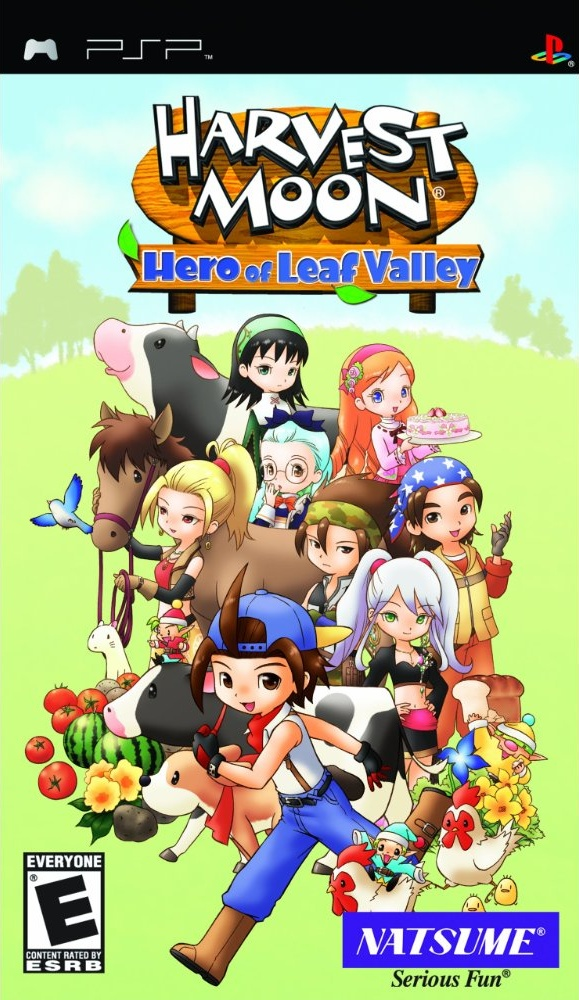 PSP - Harvest Moon Hero Of Leaf Valley - PPSSPP - Free Download Aneka ...