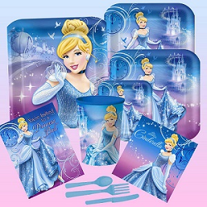 Disney Cinderella Party Pack