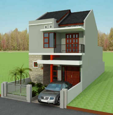 Rumah Sederhana 2 Lantai